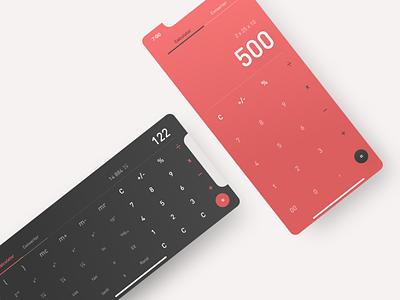 Dailyui #4 numbers beautiful font typogaphy calculator clean clean app ux  ui app app concept ui design dailyui challenge