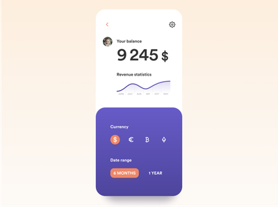 Dailyui #7 graphic currency ethereum bitcoin ux  ui beautiful font design bright app typogaphy clean app concept dailyui challenge