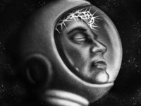 On The Silver Globe | Key Art