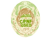 Hazed & Confused Beer Label