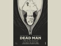 DEAD MAN Screenprinted Movie Poster
