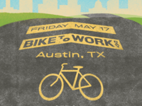 BIKE TO WORK DAY 2019 - Austin design