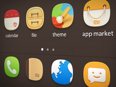Theme theme icon calendar file appmarket phone contact browser sms