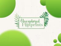 Unexplored Footprints Logo Design