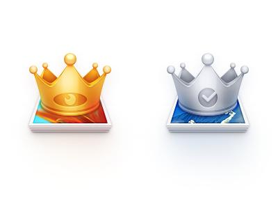 KingView icon design icon zuui logo photo king view