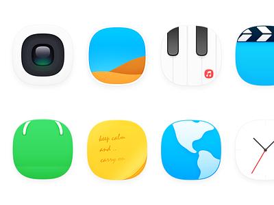 Theme-icon icon theme simple minimalist zuui os camera photo music