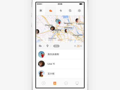 concept ui ux zuui contact concept map weather search