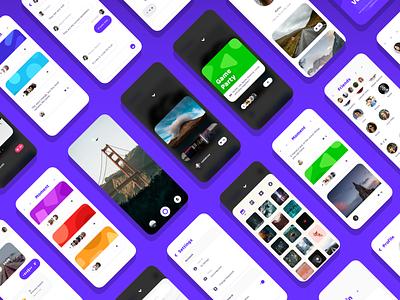 Social UI Kit message chat app uikits uikit ui social app social