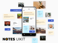 Notes UI Kit