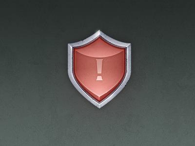 ! game icon shield zuui warn