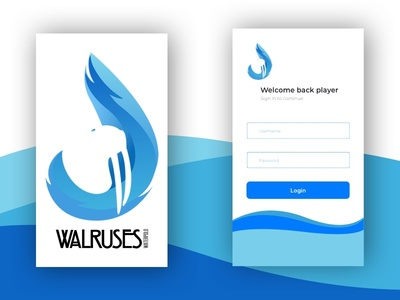Daily UI - Sign in page daily sign in waterpolo ui