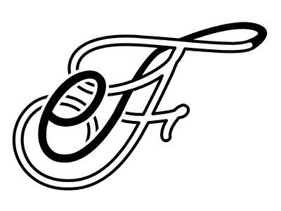 Personal Logo affinity designer italics logodesign logo logotype