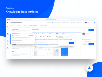 Acquire Knowledge Base Articles