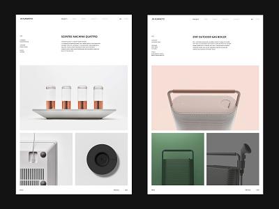 Jin Kuramoto Studio interior webdesign simple brand home studio architecture furniture information product ui product page interaction landing page website app minimal web ux ui design