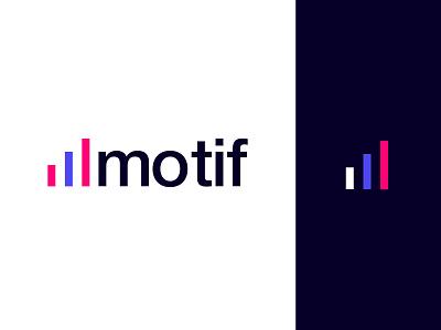 Motif - Logo musician art font podcast playlist song icon symbol icon symbol music logo logo design logotype note musical note musical music typography branding logo design