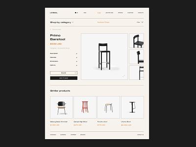 Leibal - Minimal design blog e-commerce shop store website typogaphy studio minimal minimalism logo interior interface furniture dribbble branding behance web design web ux ui architecture