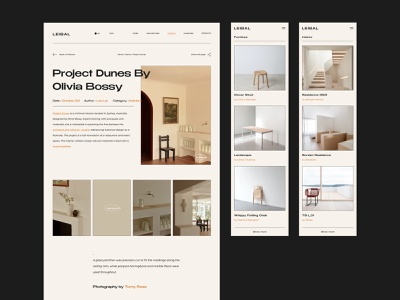 Leibal - Modern design blog uidesign mobile product web design architecture furniture interior dribbble behance minimalism branding logo typography shop app website minimal web ux ui