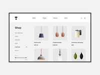 E-commerce page - Decorr