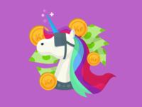 Rich unicorn