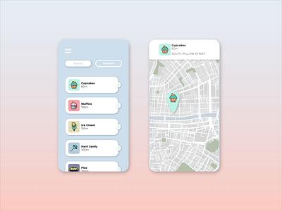 Munchies design flat icon app vector ui illustration