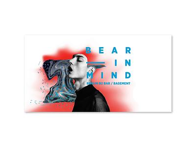 Bear in Mind collage animation illustration