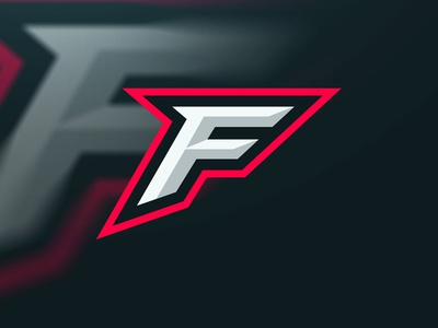 Ferocious Gaming ferocious gaming xero xerodesignz illustrator logo esports gaming ferocious