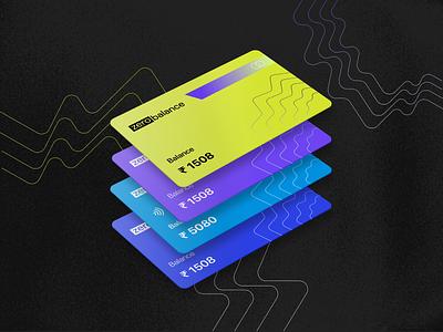 Virtual Debit Card Design fintech branding brand identity visual design visual  identity banking app finance branding fintech debit card credit card virtual card