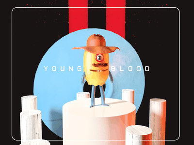 Young Blood character design illustration cinema4d 3d art 3d artwork