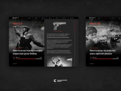 Special project for Kalashnikov group on Victory Day.