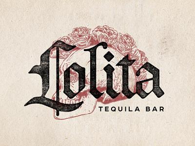 Lolita Cocina & Tequila Bar Logo design menu design creative agency branding logo design logo