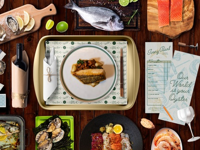 Ivory Pearl Branding menudesign design logotype restaurant branding creative agency branding
