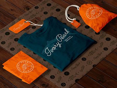 Ivory Pearl apparel design apparel design logotype restaurant branding logo creative agency branding