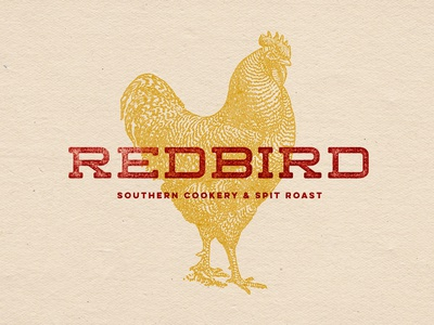 Redbird Logo & Branding Design vector illustration design logotype restaurant branding logo creative agency branding