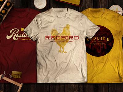 Redbird Apparel Design apparel vector illustration design logotype restaurant branding logo creative agency branding