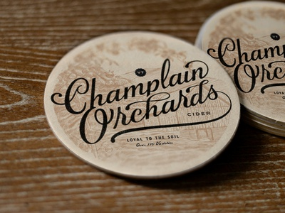 Champlain Orchards Coaster