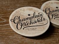 Champlain Orchards Coaster