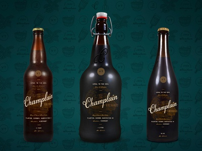 Champlain Orchards Bottle & Can Design(s)