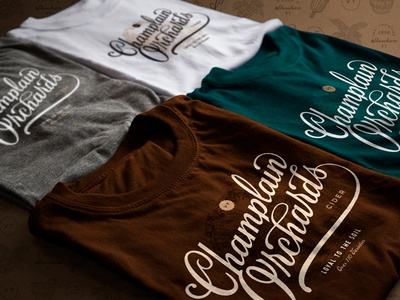 Champlain Orchards Apparel Design