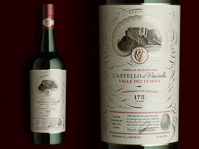 Castello de Vinciullo Label Design