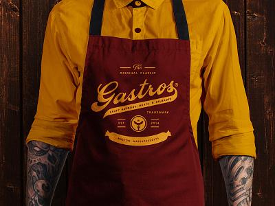 Gastros Branding & Apparel Design apparel design apparel vector logotype logo creative agency branding