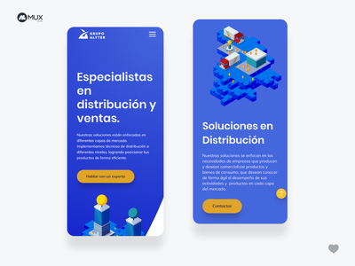Corporative Web Design for alyter. minimal ui ux webdesign uidesign uxdesign