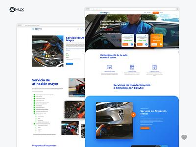 Web Design Car Concept ux ui uidesign uxdesign design web minimalist webdesign minimal