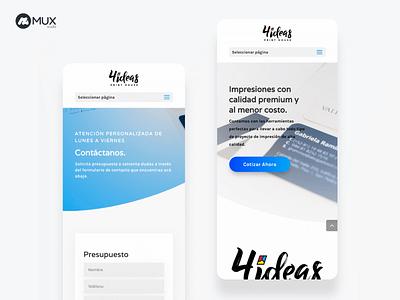 Corporative Web Design minimal design web ui minimalist webdesign uxdesign uidesign