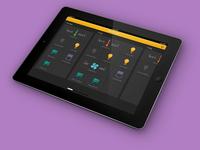 Smarthome remote app tablet