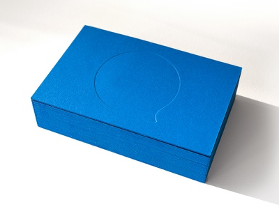 Aaltra Businesscards front businesscard letterpress print