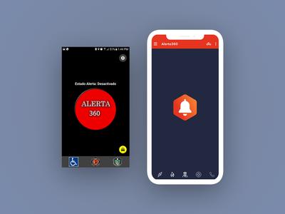 APP redesign Alert360