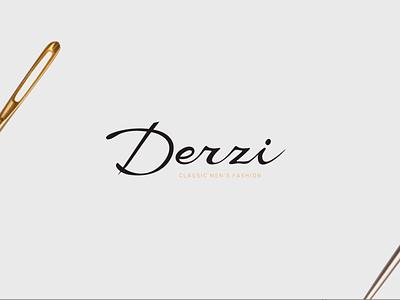 Derzi   Logo design identity branding design golden ratio logodesign brand identity design brand design clothing brand logotype logo design branding logo
