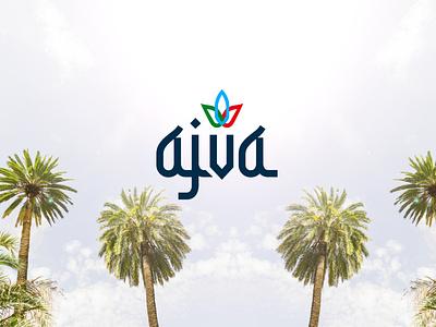 Ajva   Logo design design branding design golden ratio brand design brand identity brand logotype logo design branding logo