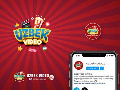 Uzbek video   Avatar user design branding design golden ratio design brand design brand identity logotype brand logo design branding logo avatar