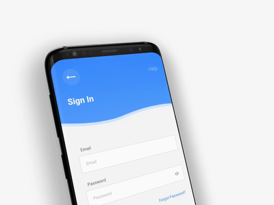 User Sign Up / Sign In